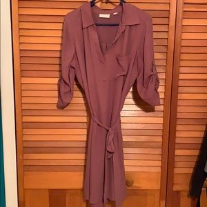 New York and company purple dress